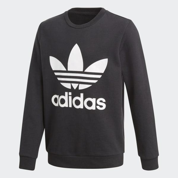 Trefoil Sweatshirt schwarz CF8569