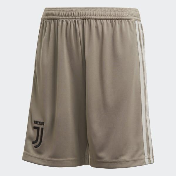 Juventus Away Shorts Green CF3503