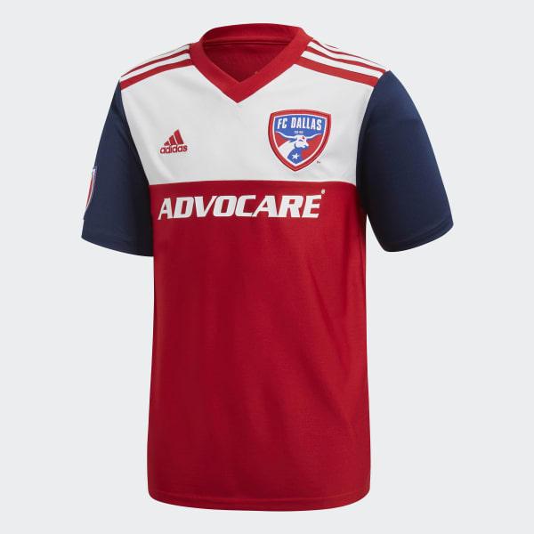 FC Dallas Home Replica Jersey Red CE3309