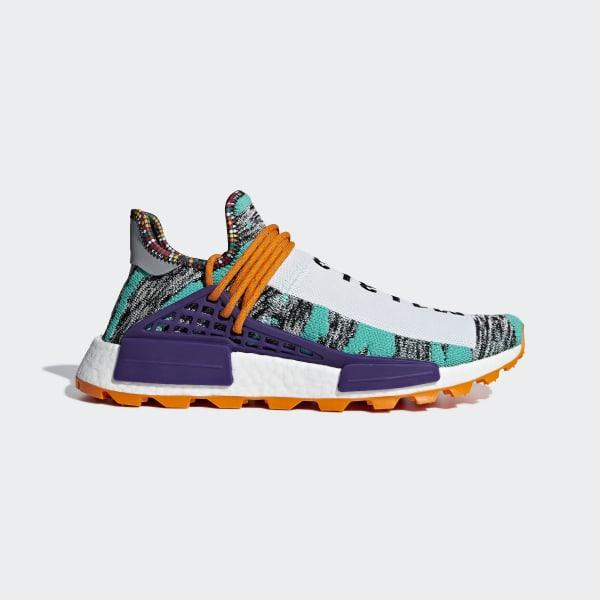 Pharrell Williams SOLARHU NMD Shoes Turquoise BB9528