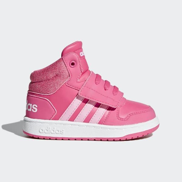 VS Hoops Mid 2.0 Schoenen roze AH2403