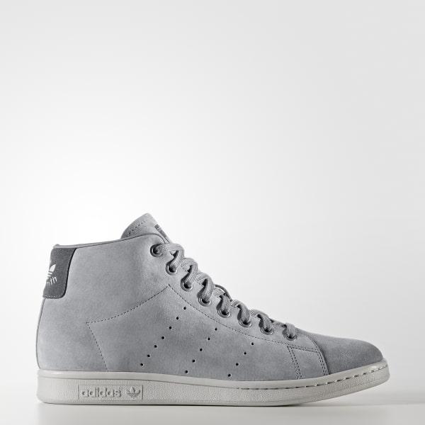 Stan Smith Mid Schuh grau BZ0651