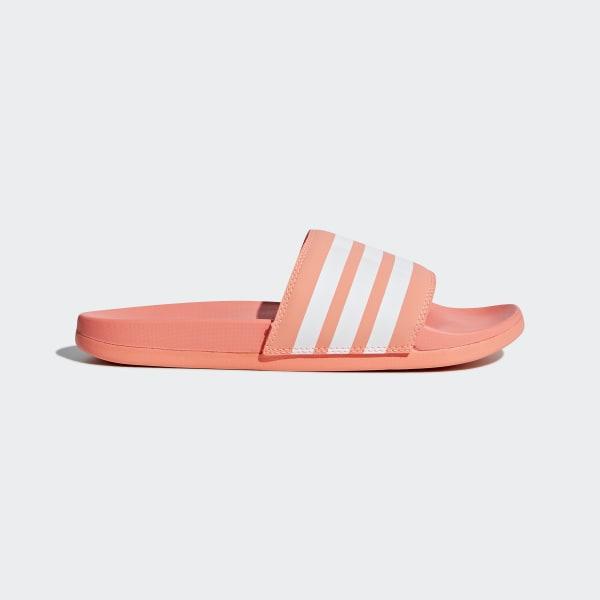 Adilette Cloudfoam Plus Stripes Slides Orange B43528
