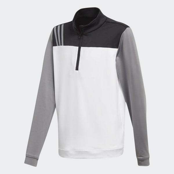 Sweat-shirt Layering blanc CY6453