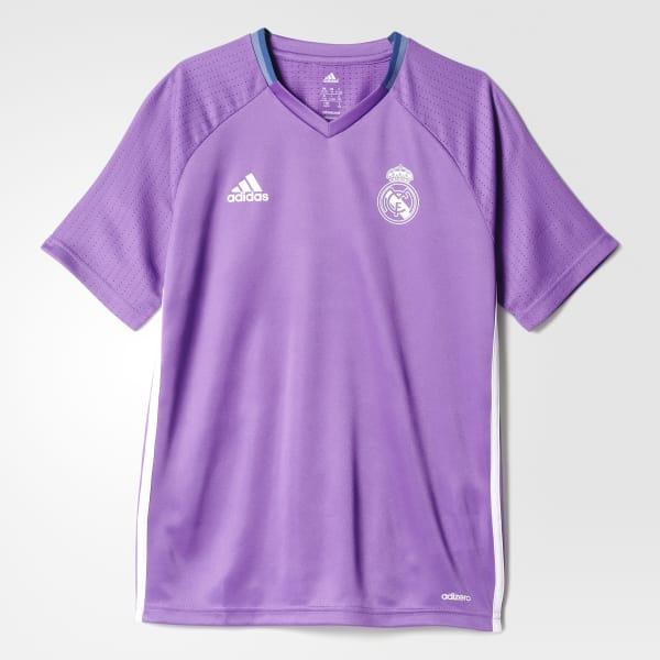 Real Madrid Training Jersey Purple AO3123