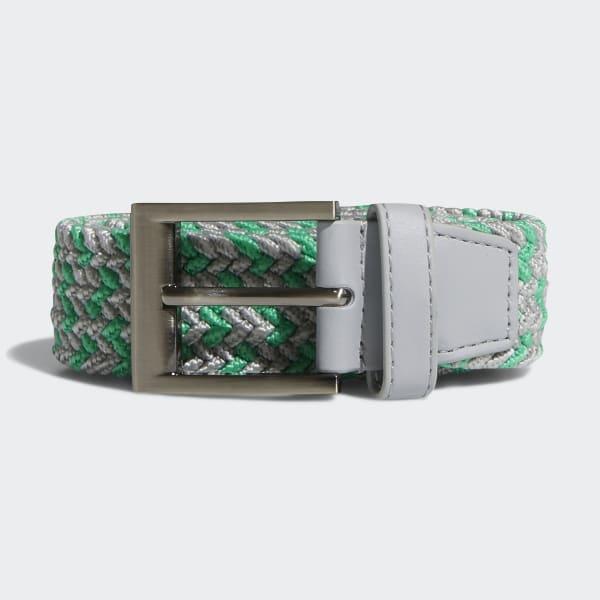 Gevlochten Stretch-Riem groen CY9102