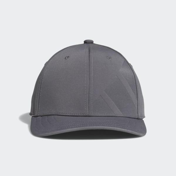 A-Stretch Bold Stripe Cap Grey CY9736