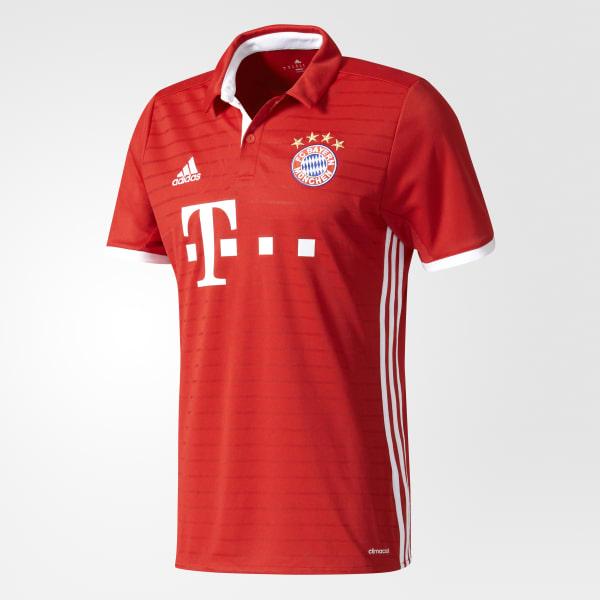 Maillot FC Bayern Munich Domicile Replica rouge AI0049