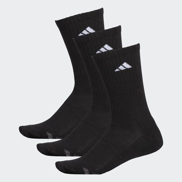 Climalite Cushioned Crew Socks 3 Pairs Black H77457
