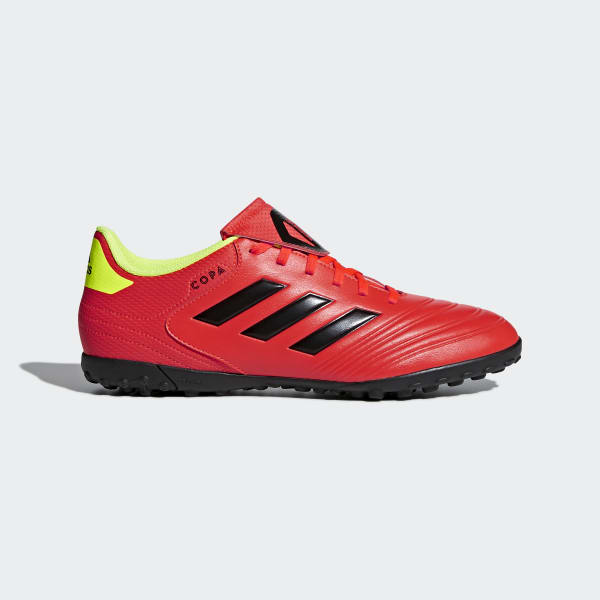 Calzado de Fútbol Copa Tango 18.4 Césped Artificial SOLAR RED/CORE BLACK/SOLAR YELLOW DB2453
