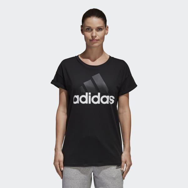 Essentials Linear Loose T-shirt Svart S97222