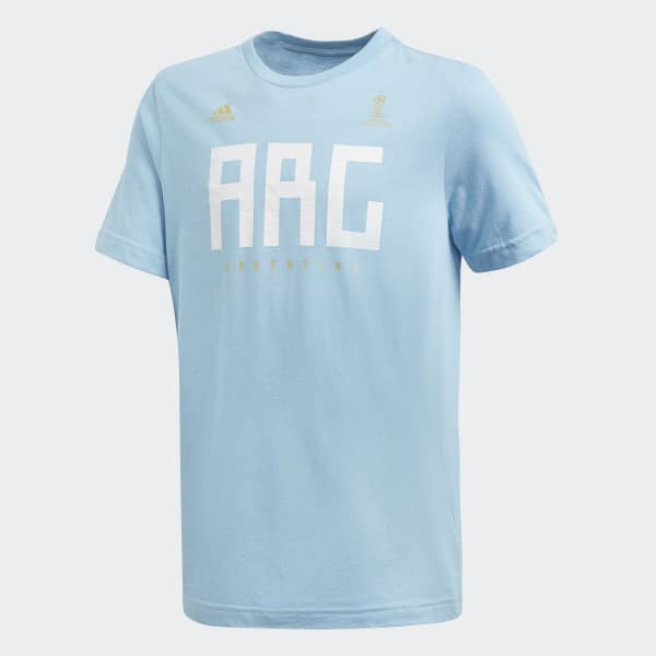 Argentina Tee Blue CW2070