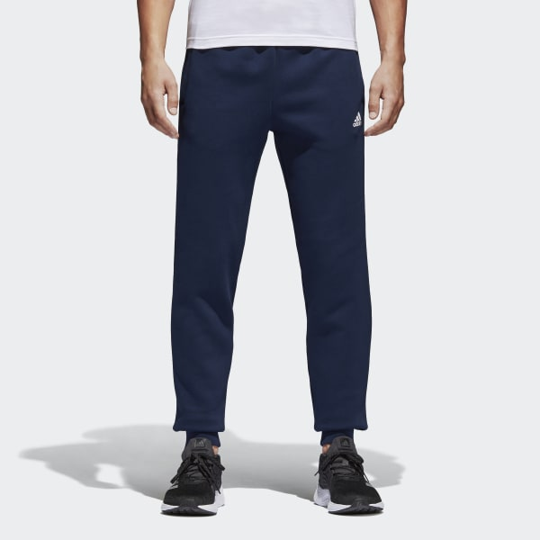 Essentials Tapered Fleece Pants Blue BK7420