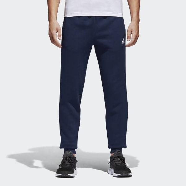 Pantaloni Essentials Tapered Fleece Blu BK7420