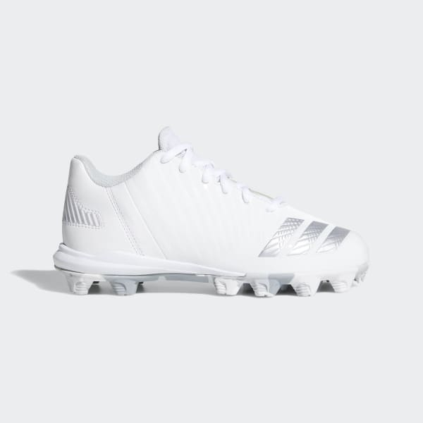 Icon Molded Cleats White B39231