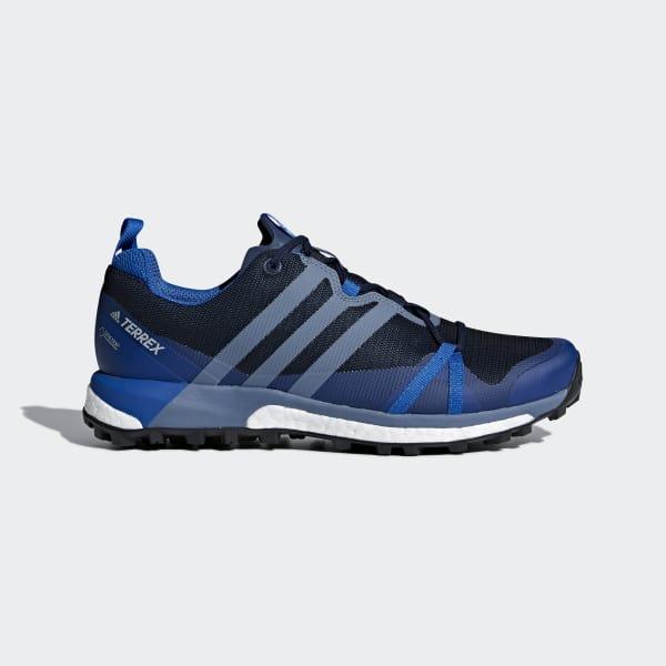Terrex Agravic GTX Schuh blau CM7611