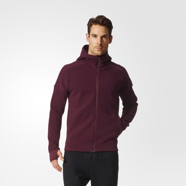 Hoodie adidas Z.N.E. Rosso B46989