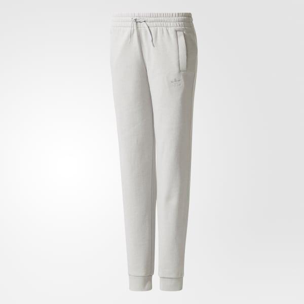 Pantaloni Trefoil French Terry Grigio BQ3961