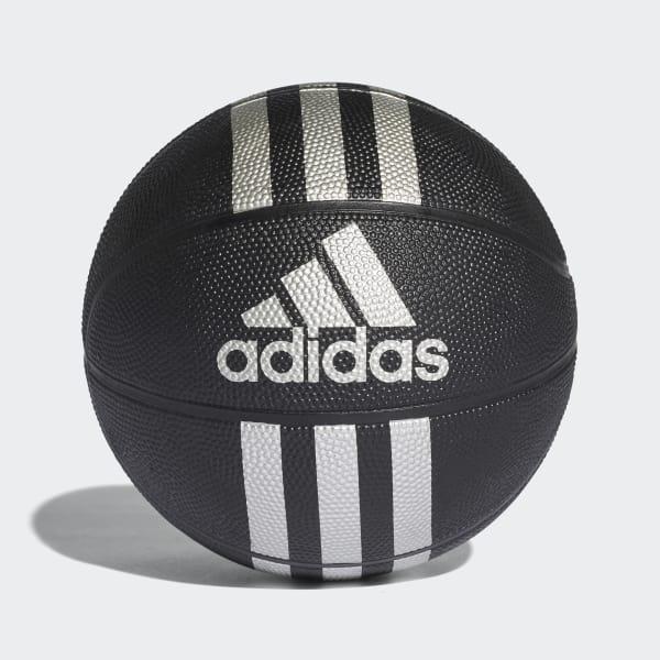 3-Stripes Mini-Basketbal zwart X53045