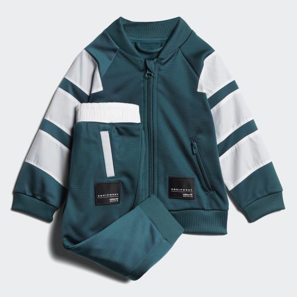 EQT SST Track Suit Green CE4352