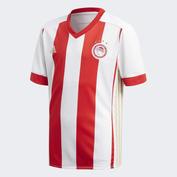 Olympiacos FC Home Jersey White BK2866