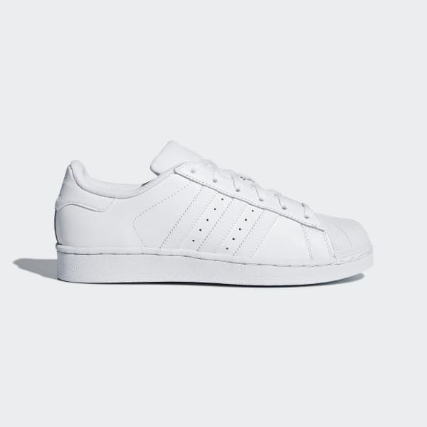Zapatilla Superstar Foundation Blanco B23641