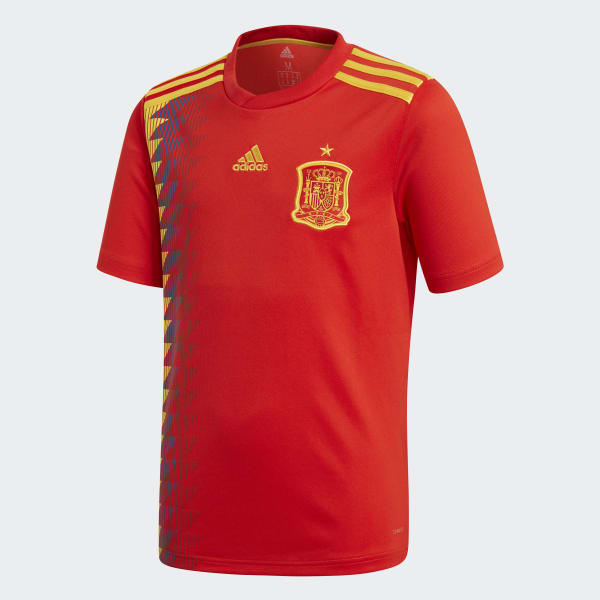 Camiseta primera equipación España Rojo BR2713