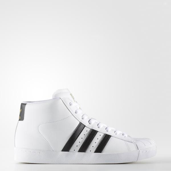 Pro Model Vulc ADV Shoes White BY4095