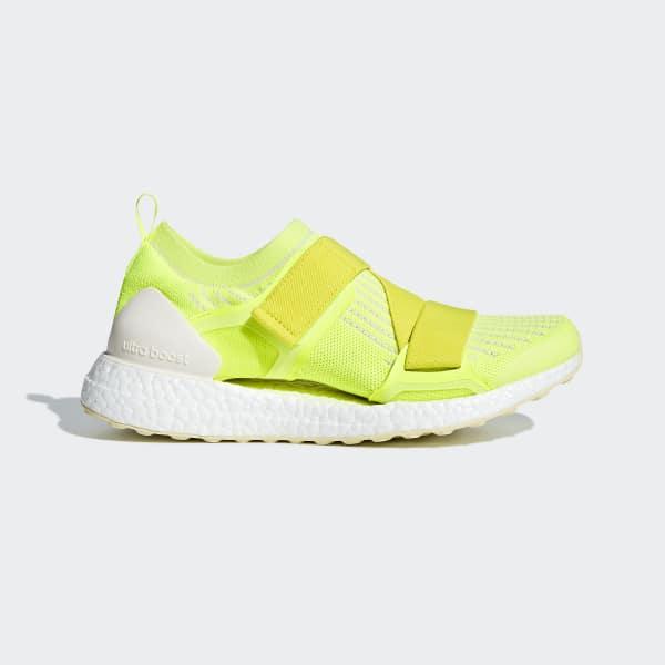 UltraBOOST X Schuh gelb AC7550