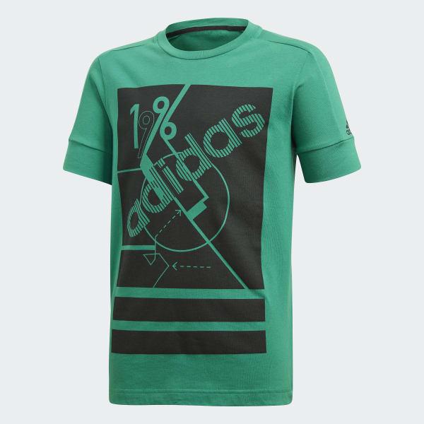 Camiseta ID Remix Verde CF6421