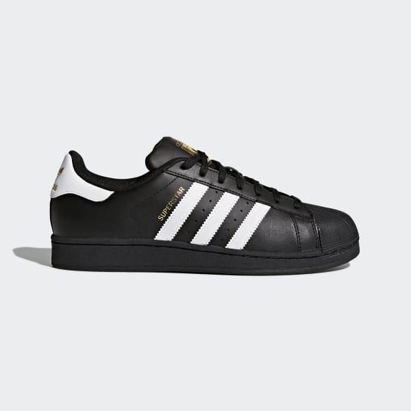 Superstar Foundation Shoes Black B27140
