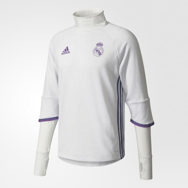 Real Madrid Trainingsoberteil weiß AO3133