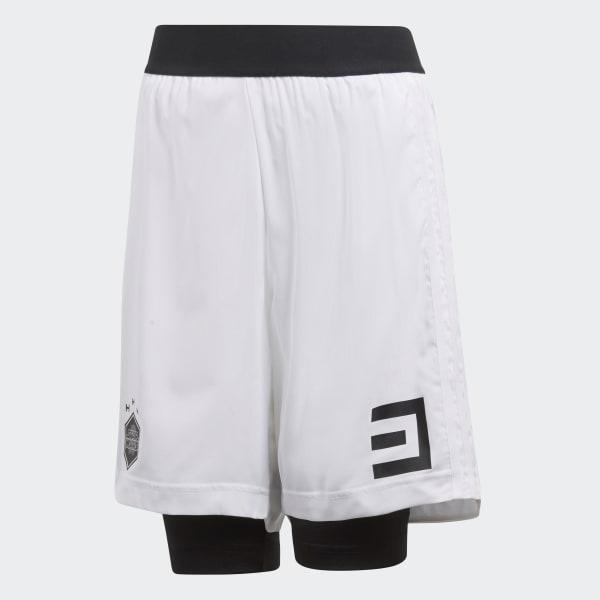 Pantaloneta con Licras Star Wars Blanco CV5988