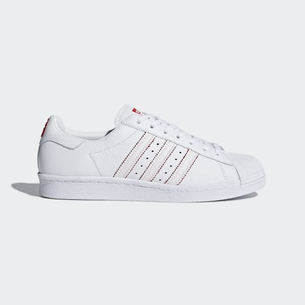 Chaussure Superstar 80s CNY blanc DB2569