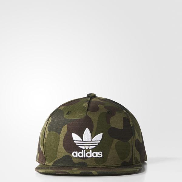 Camouflage Snap-Back Kappe mehrfarbig BK7497