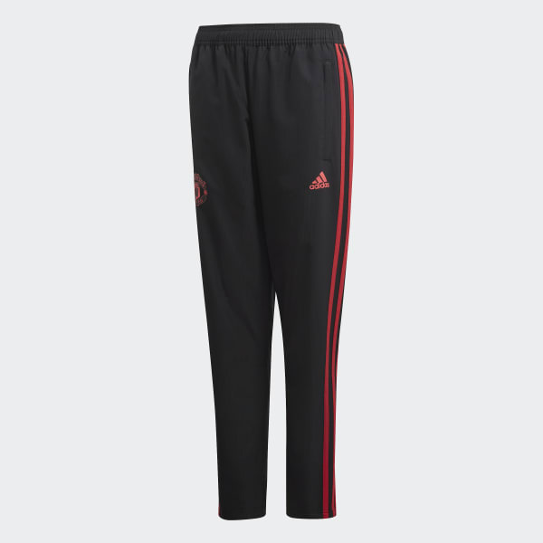 Manchester United Downtime Hose schwarz CW7616