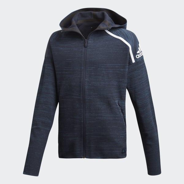 adidas Z.N.E. Parley Hoodie blau DN6668