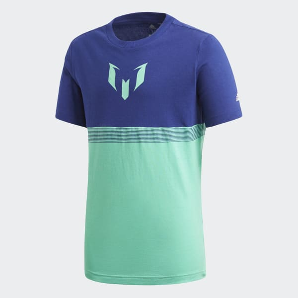 T-shirt Messi Blu CF7002