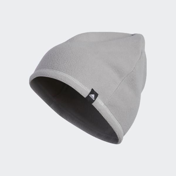 3-Stripes Fleece Beanie Grey BC5317