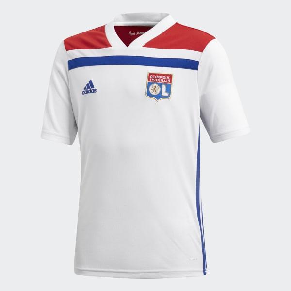 Camiseta primera equipación Olympique de Lyon Blanco CF9156
