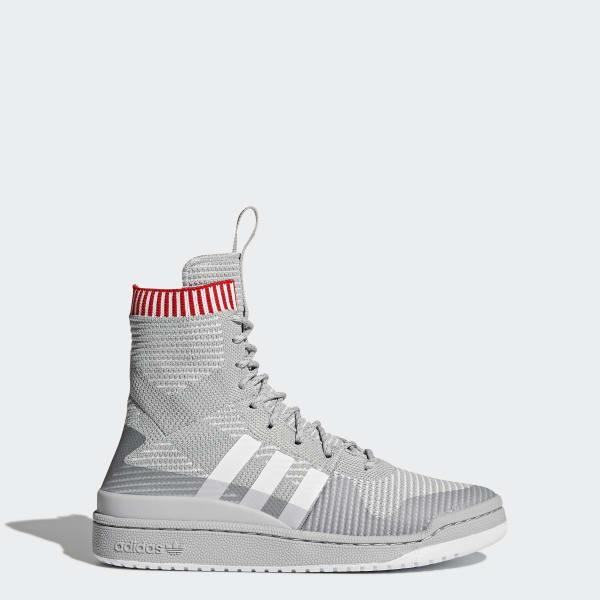 Forum Primeknit Winter Shoes Grey BZ0646