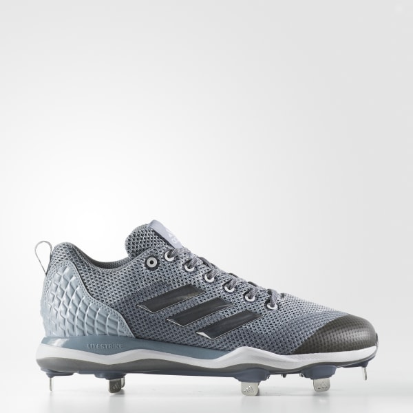 PowerAlley 5 Cleats Grey B39180