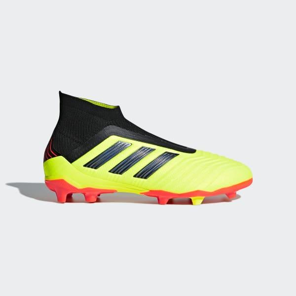 Predator 18+ Firm Ground Boots Yellow DB2311