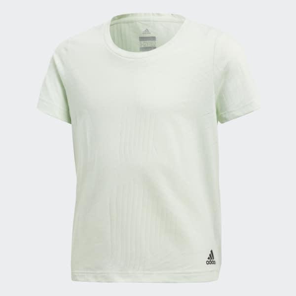 T-shirt Training Climacool Aeroknit vert CF7221