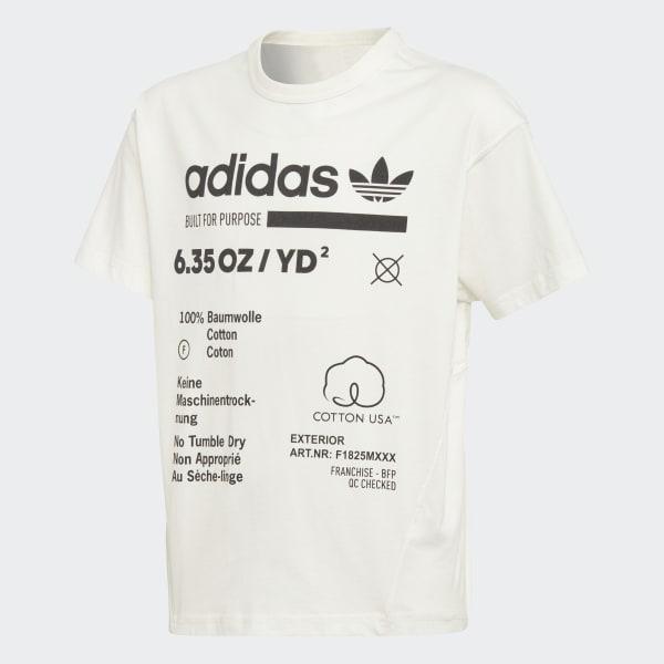 Kaval T-Shirt weiß DH3073