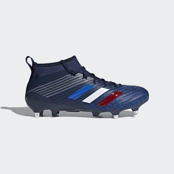 Predator Flare SG Rugbyschoenen blauw CM7460