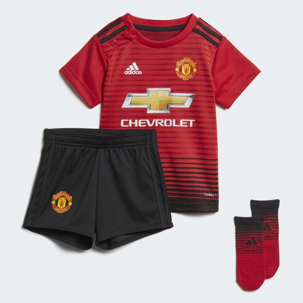 Miniconjunto primera equipación Manchester United Rojo CG0056