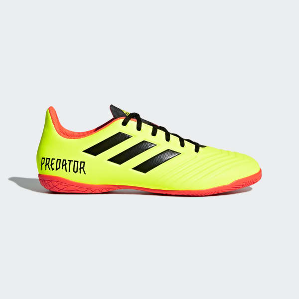 Zapatos de Fútbol Predator Tango 18.4 Bajo Techo Amarillo DB2138