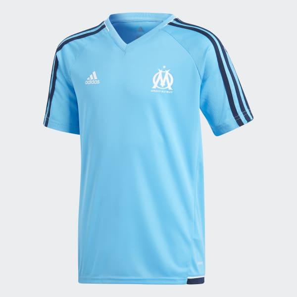 Camiseta entrenamiento Olympique de Marsella Azul BK5592