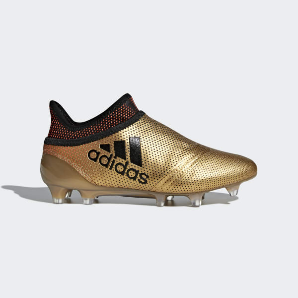 X 17+ Purespeed Firm Ground Cleats Gold CP8967